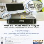WD TV Mini Media Player USB
